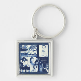 Don Woods History In Music Key Chain