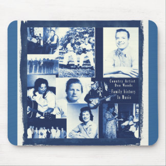 Don Woods History In Music Mousepads