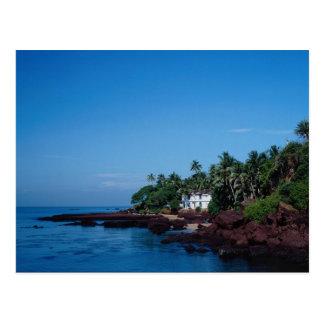 Dona Paula, Goa, India Postcard
