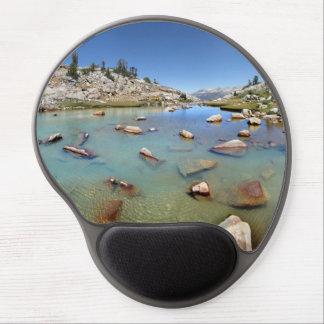 Donahue Pass Lake - Yosemite Gel Mouse Pad