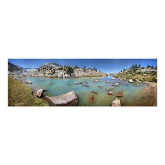 Donahue Pass Lake - Yosemite Photo Print