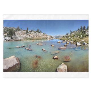 Donahue Pass Lake - Yosemite Tablecloth