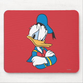 Donald Duck | Arms Crossed Mouse Pad