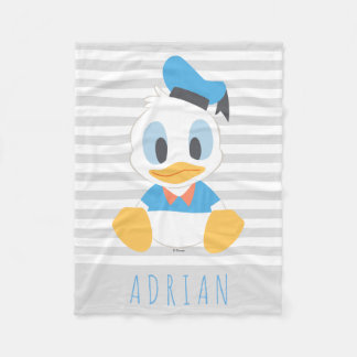 Donald Duck | Baby Donald - Add Your Name Fleece Blanket