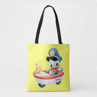 Donald Duck | Boat Baby Tote Bag