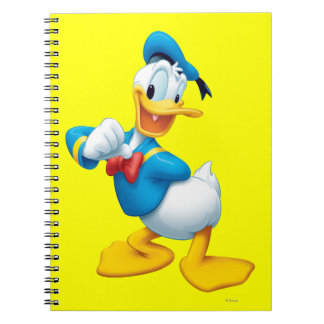 Donald Duck | Posing Spiral Notebook
