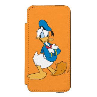 Donald Duck | Standing Arms Crossed Incipio Watson™ iPhone 5 Wallet Case