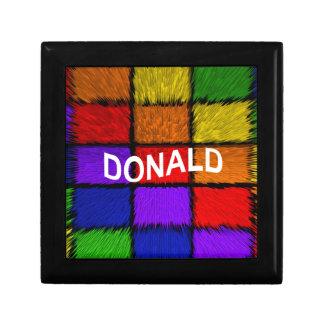 DONALD GIFT BOX