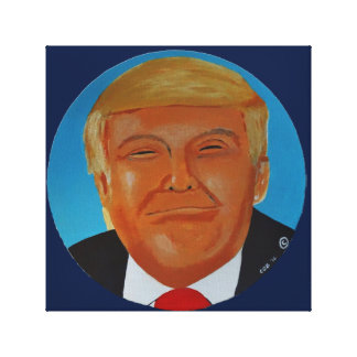 Donald  J Trump Canvas Original Artwork