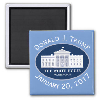 Donald J. Trump Inauguration Day & White House Magnet
