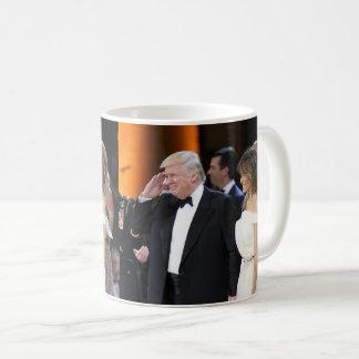 Donald & Melania Trump At Inauguration Coffee Mug