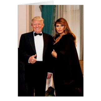 Donald & Melania Trump Card