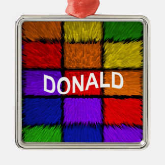 DONALD METAL ORNAMENT