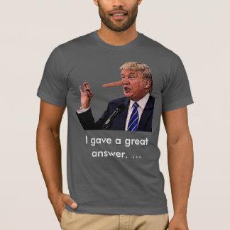 "Donald ""pinocchio"" Trump T-Shirt"