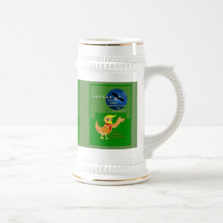 Donald the Trumpbird and Ravens Beer Stein