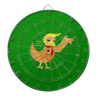 Donald the Trumpbird Dartboard