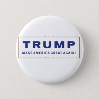 "Donald Trump 2016 Campaign Button - 2.25"" Round"