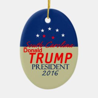 Donald TRUMP 2016 Ceramic Oval Decoration