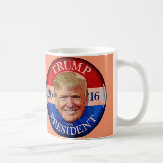 DONALD TRUMP 2016 ORANGE COFFEE MUG