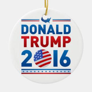 DONALD TRUMP 2016 Presidential Election Ceramic Ornament