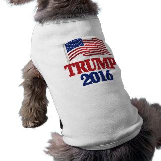 Donald trump 2016 sleeveless dog shirt
