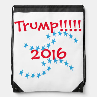 Donald TRUMP 2016 Stars Election Gear Backpack
