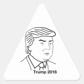 Donald Trump 2016 Triangle Sticker
