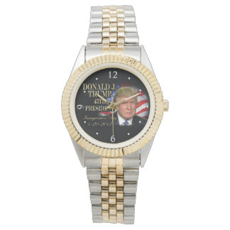 Donald Trump 45th President Inauguration Keepsake Watch