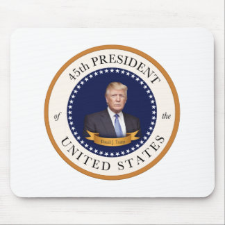 Donald Trump - 45th President of the United States Mouse Pad