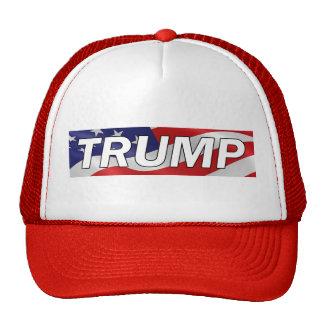 Donald TRUMP American Flag Trucker Hat #MAGA