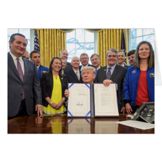 Donald Trump Authorizes NASA Programs Card