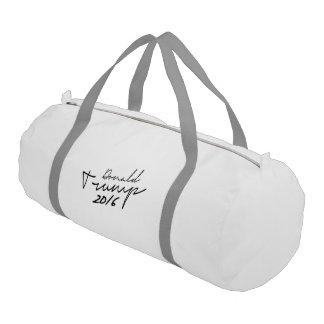 Donald Trump Autograph 2016 Gym Duffel Bag