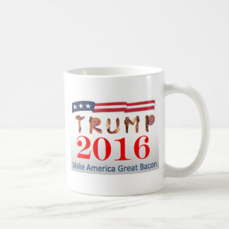 Donald Trump Bacon Coffee Mug
