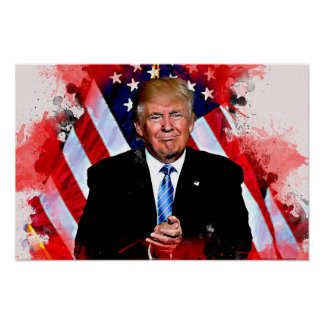 Donald Trump Celebration Poster
