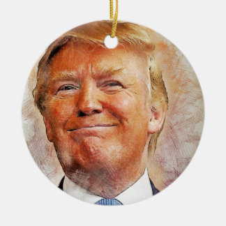 Donald Trump Ceramic Ornament