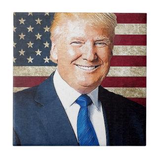 Donald Trump Ceramic Tile