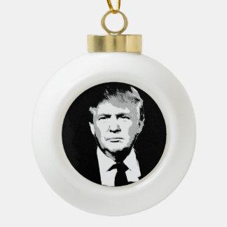 Donald Trump Face Ceramic Ball Decoration