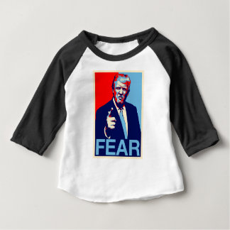 "Donald trump ""Fear"" parody poster 2017 Baby T-Shirt"