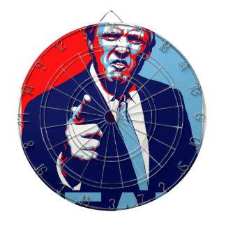 "Donald trump ""Fear"" parody poster 2017 Dartboard"