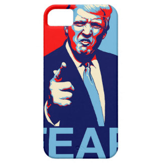 """Donald trump """"Fear"""" parody poster 2017 iPhone 5 Cover"""