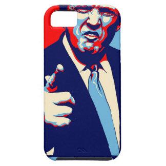 "Donald trump ""Fear"" parody poster 2017 Tough iPhone 5 Case"