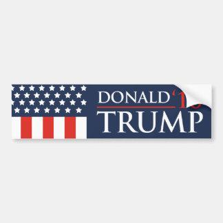 Donald Trump Flag Bumper Sticker 2016 President