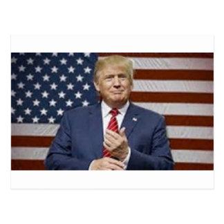 Donald Trump Flag Postcard