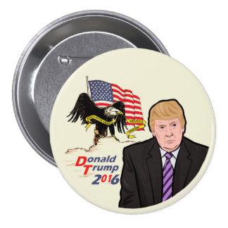 Donald Trump for America 7.5 Cm Round Badge
