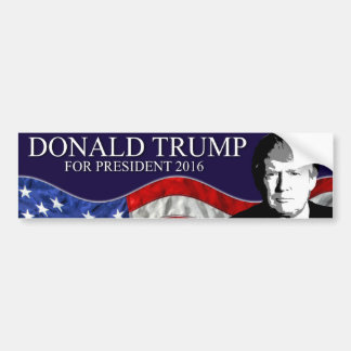 Donald Trump for President 2016 Bumper Sticker
