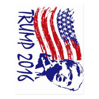 Donald Trump for President 2016 - vote republican Postcard