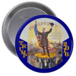 Donald Trump for President in 2016 10 Cm Round Badge
