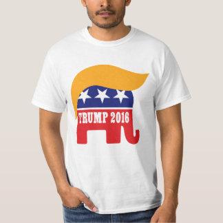 Donald Trump Hair GOP Elephant Logo Tees