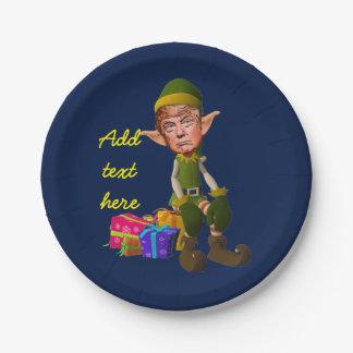 Donald Trump imp Paper Plate