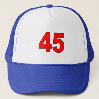 "Donald Trump is ""America's 45th President"" Trucker Hat"